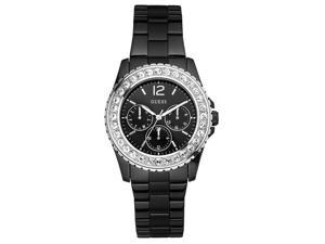 Guess Dizzling Ladies Crystals Quartz S. Steel