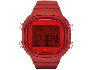 Adidas Red Polyurethane Watch Mens ADH2072