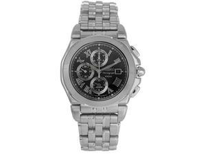 Seiko Mens Chronograph Stainless Steel Watch SNA525