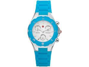 Michele Tahitian Jelly Bean Turquoise Ladies Watch MWW12D000004
