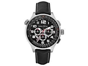 Nautica Chronograph Ocean 46 Black Dial Men's watch #N25012G