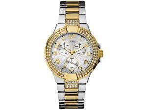 GUESS Two-Tone Stainless Steel Ladies Watch U14007L1