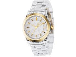 DKNY Clear Plastic Ladies Watch NY4850