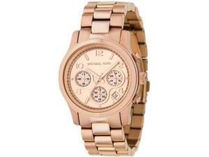 Michael Kors Rose Gold Stainless Steel Ladies Watch MK5128