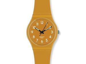 Swatch Originals Sand Storm Caramel Dial Unisex watch #GC111