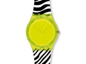 Swatch Originals Yellow Zeb Yellow Dial Unisex watch #GJ131