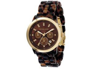 Michael Kors Tortoise Acrylic Ladies Watch MK5216