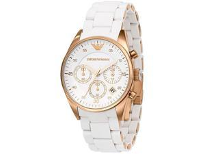 Armani Sport Ladies Chrono Quartz Stainless Steel