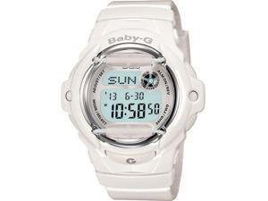 Casio Baby G White Resin Digital Ladies Watch BG169R-7A