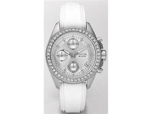 Fossil Decker Chronograph Silver Dial Women's watch #ES2883
