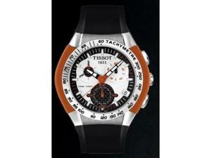 Tissot Men's T-Tracx Chronograph Black Rubber