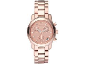 Michael Kors Chronograph Rose Gold Tone Steel Ladies Watch MK5430