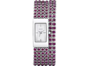 DKNY Purple Crystals   Ladies Watch NY9152