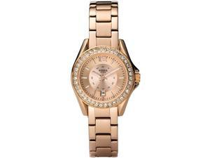 Fossil Mini Riley Rose   Gold-Tone Ladies Watch   ES2889