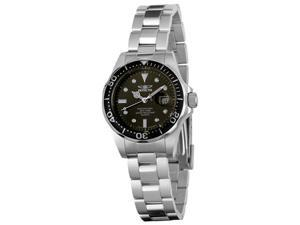 Invicta Women's Pro Diver Black Dial Stainless Steel