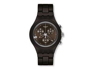 Swatch Full-Blooded   Smokey Brown Mens Watch   SVCC4000AG