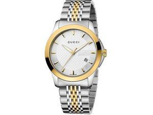 Gucci G-Timeless Two-Tone   Stainless Steel Ladies Watch   YA126409