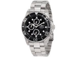 Invicta 1768 Men's Pro Diver Stainless Steel Coin Edge Bezel Chronograph Watch