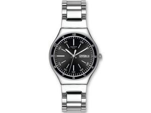 Swatch Black Decency Mens   Watch YGS749G