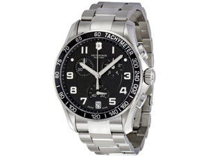 Swiss Army Victorinox   Chronograph Stainless Steel Mens   Watch 241494