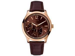 GUESS Contemporary Dress Leather Mens Watch U10627G1