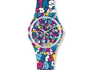 Swatch Love Song Kidrobot Special Ladies Watch GE232