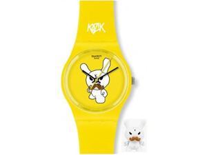 Swatch Ski Instructor Kidrobot Special Ladies Watch GJ130