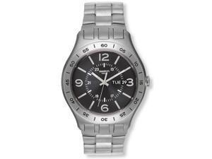 Swatch In A Dark Grey Mode Mens Watch YTS704G