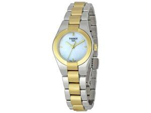 Tissot Glam Sport Mother of Pearl Ladies Watch T0430102211100