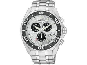 Citizen Signature Eco-Drive Perpetual Chronograph Mens Watch BL5440-58A