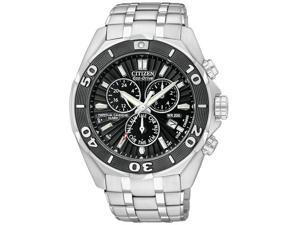 Citizen Signature Eco-Drive Perpetual Chronograph Mens Watch BL5440-58E