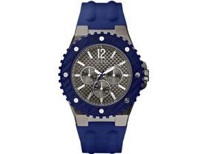 GUESS Blue Silicone Mens Watch U12655G1