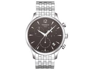 Tissot Tradition Leather Mens Watch Watch T0636171106700