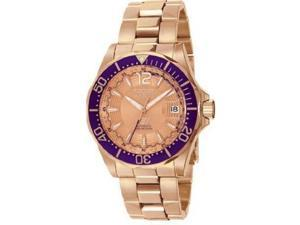 Invicta Rose Gold-Tone S1 Automatic Mens Watch 3547