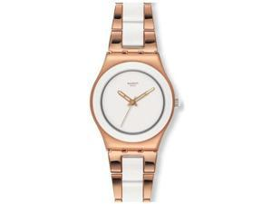 Swatch Rose Pearl Ladies Watch YLG121G
