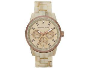 Michael Kors Ritz Sand Acetate Ladies Watch MK5641