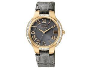 Citizen Eco-Drive Ciena Rose Gold-Tone Ladies Watch EM0093-08H