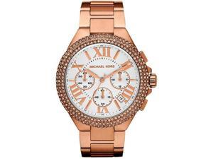 Michael Kors Camille Chronograph Rose Gold-tone Ladies Watch MK5636