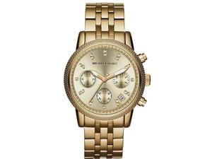 Michael Kors Ritz Gold-Tone Chronograph Ladies Watch MK5676