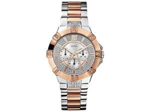 GUESS Two-Tone Multifunction Ladies Watch U0024L1