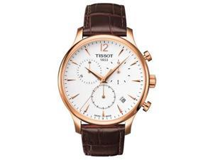 Tissot Tradition Leather Mens Watch T0636173603700