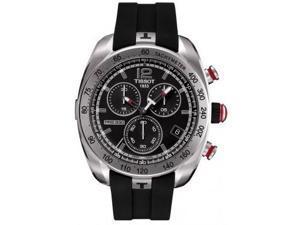 Tissot PRS 330 Chronograph Black Dial Mens Watch T0764171705700