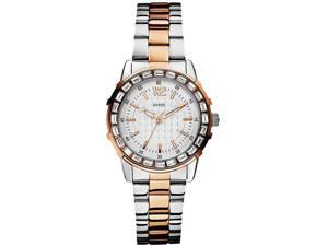 GUESS Two-Tone Stainless Steel Ladies Watch U0018L3