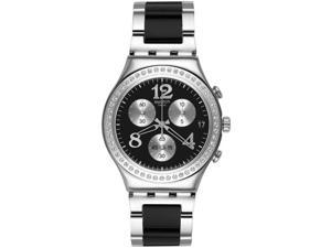 Swatch Secret Thought Black Ladies Watch YCS551G