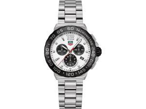 Tag Heuer Formula 1 Chronograph White Dial Steel Mens Watch CAU1111.BA0858