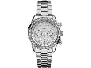 GUESS Stainless Steel Chronograph Ladies Watch U0016L1