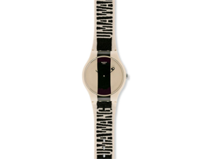 Swatch Pure Fabric Unisex Watch SUOZ134