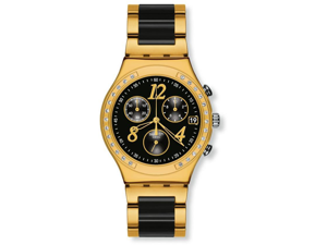 Swatch Dreamnight Yellow Ladies Watch YCG405G
