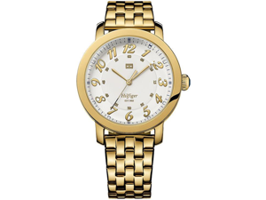 Tommy Hilfiger Gold-Tone Stainless Steel Ladies Watch 1781233