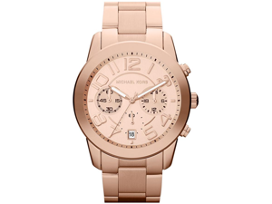 Men's Mercer Chronograph Rose Gold Dial Rose Gold Tone Stainless Steel